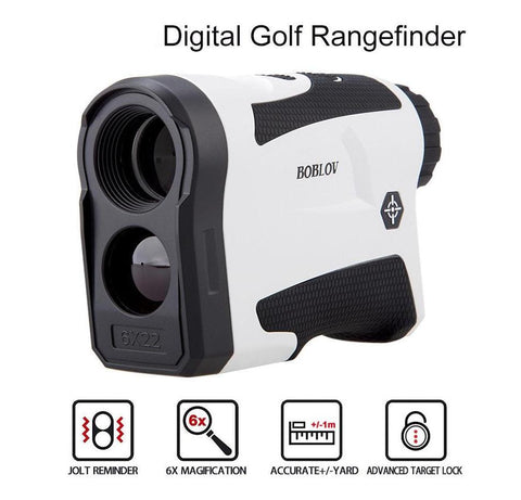 600M 6X Outdoor Hunting Distance Golf Range Finder