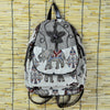 Image of Elephant Travel Embroidery Canvas Backpack