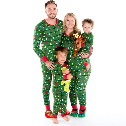 Jumpsuit PJS Matching Family Christmas Pajamas