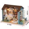 Image of DIY Blue Furniture Doll House