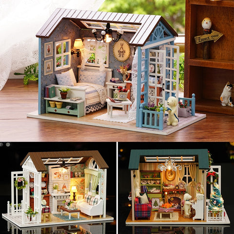 DIY Retro Furniture Doll House