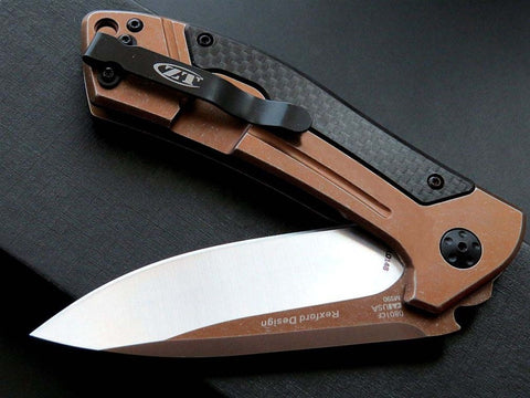 Carbon Fiber Camping Hunting Folding Pocket Knife