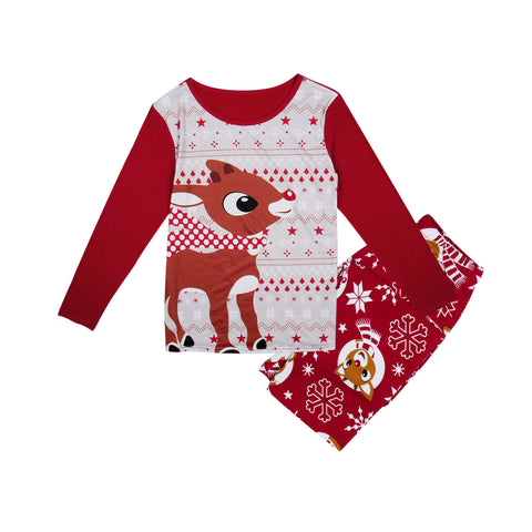 Deer PJS Matching Family Christmas Pajamas