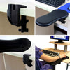 Image of Computer Desk Extender Mouse Pad Ergonomic Arm Wrist Support Rest