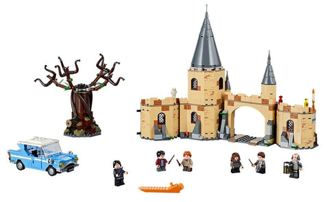 843pcs Wall Castle Model Building Blocks