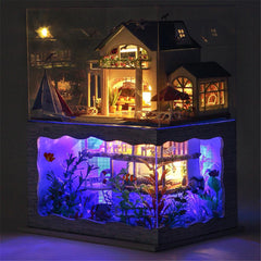Hawaii DIY Furniture Doll House