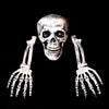 Image of Horror Buried Skeleton Skull Garden Yard Lawn Halloween Party Decorations