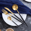 Image of Luxury Stainless Steel Plating European Western Flatware Cutlery Set