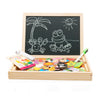 Image of Mamy Baby Forest Wooden Magnetic Puzzle Board