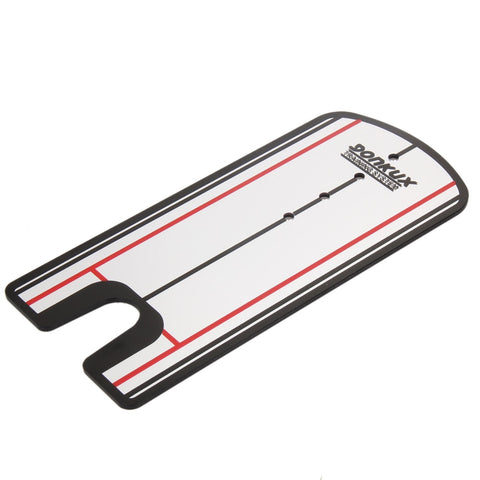Portable Putting Putter Swing Mirror Alignment Golf Training Aids