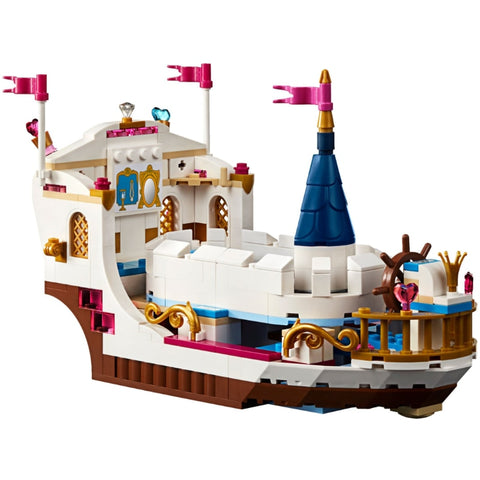 Princess Mermaid Boat Model Building Blocks