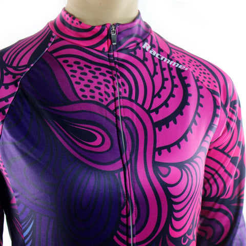 Breathable MTB Long Sleeve Clothing NL-02 Women Cycling Jersey
