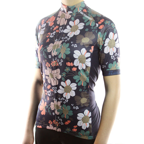 Breathable MTB Short Sleeve Clothing NS-07 Women Cycling Jersey