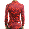 Image of Thermal Winter Long Sleeve Clothing NZ-01 Women Cycling Jersey
