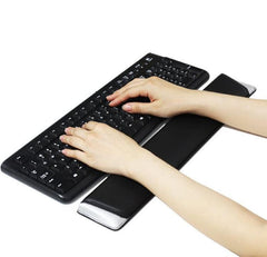 Leather Gamer PC Ergonomic Keyboard Hand Wrist Support Rest