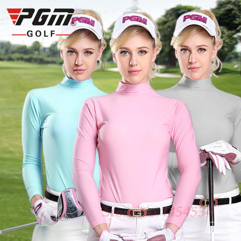 Sungreen Polo Long Sleeve Dry Fit Clothes Women Golf Shirts