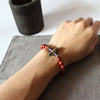 Image of Tibetan Wood Yoga Stretch Chakra Bracelet