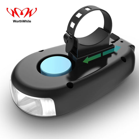 Speaker Waterproof Rechargeable Bicycle Lights Bike Headlight