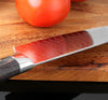 Image of 8Inch Japanese Damascus Pattern Santoku Chef Kitchen Knife