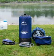 Pressure Surf Inflatable Portable Camping Shower