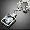 Image of Romantic Big Heart Sister Jewelry Necklaces
