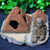 Image of Pyramid Sphinx Ornaments Aquarium Fish Tank Decorations