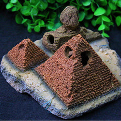 Pyramid Sphinx Ornaments Aquarium Fish Tank Decorations