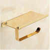 Image of Golden Mirror Toilet Paper Holder