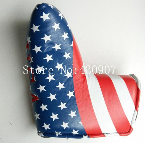 USA Flag America Putter Golf Head Covers