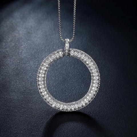 Ring Circle Grandma Jewelry Necklace
