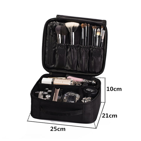 Large Organizer Cosmetic Travel Makeup Bag