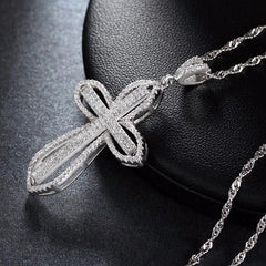 Luxury Charm Cross Grandma Jewelry Necklace