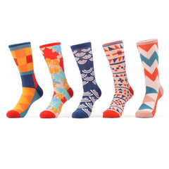 5 Pairs Crazy Funky Cool Funny Socks