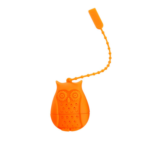 Cute Owl Loose Tea Steeper Infuser