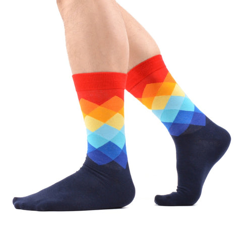 12 Pairs Funky Happy Cool Funny Socks