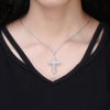 Image of Luxury Charm Cross Grandma Jewelry Necklace