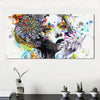Image of Flower Floral Girl Canvas Wall Art