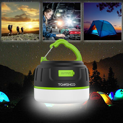 Power Bank Water Resistant Tent Camping Lights