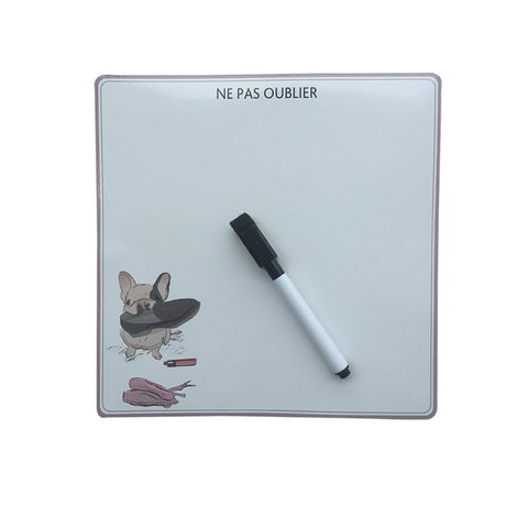 Cute Cool Dog Erase Message Board Fridge Refrigerator Magnets