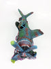 Image of Large Sunken Airplane Aircraft Wreck Ornaments Aquarium Fish Tank Decorations