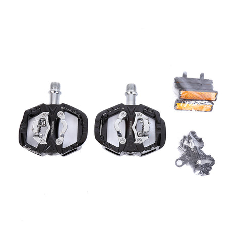 Reflective Mountain Bike Clipless Pedals