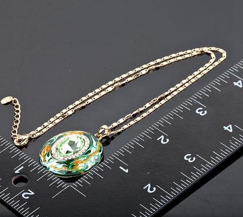 Lucky Pendant Grandma Jewelry Necklace