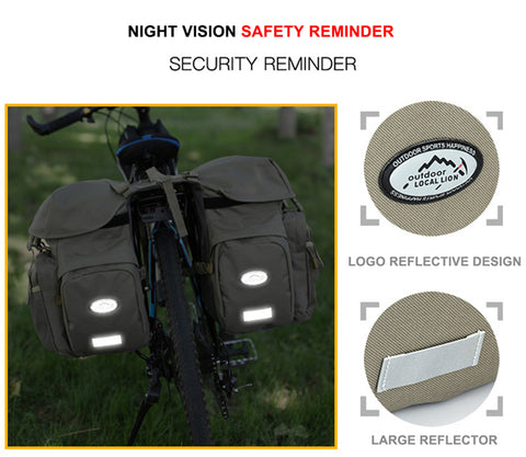 Outdoor Bicycle Bike Panniers