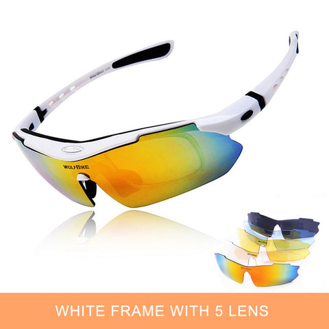 UV Protection Polarized Cycling Glasses