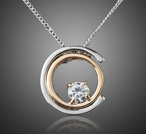 Classic White Gold Grandma Jewelry Necklace
