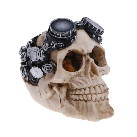 Unique Skull Ornaments Aquarium Fish Tank Decorations