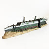 Image of 15inch Ship Sunken Wreck Ornaments Aquarium Fish Tank Decorations