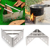 Image of Lightweight Folding Portable Backpacking Stove