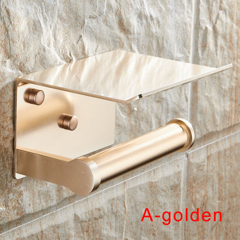 Multifunction Roll Toilet Paper Holder