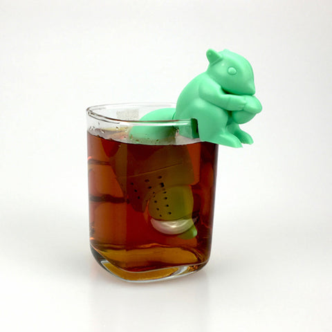 Cute Squirrel Loose Tea Steeper Infuser